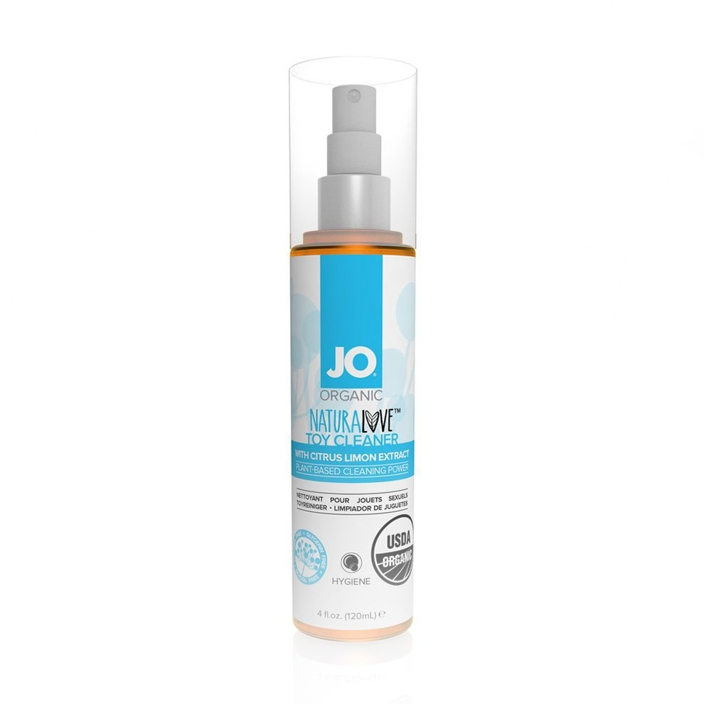 System JO NATURALOVE Organic Toy Cleaner 4 fl.oz. (120 mL)