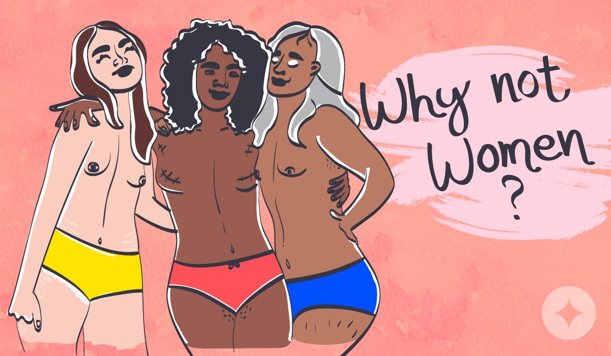 Trans activist XaXa McQueen discusses the term vulva owner