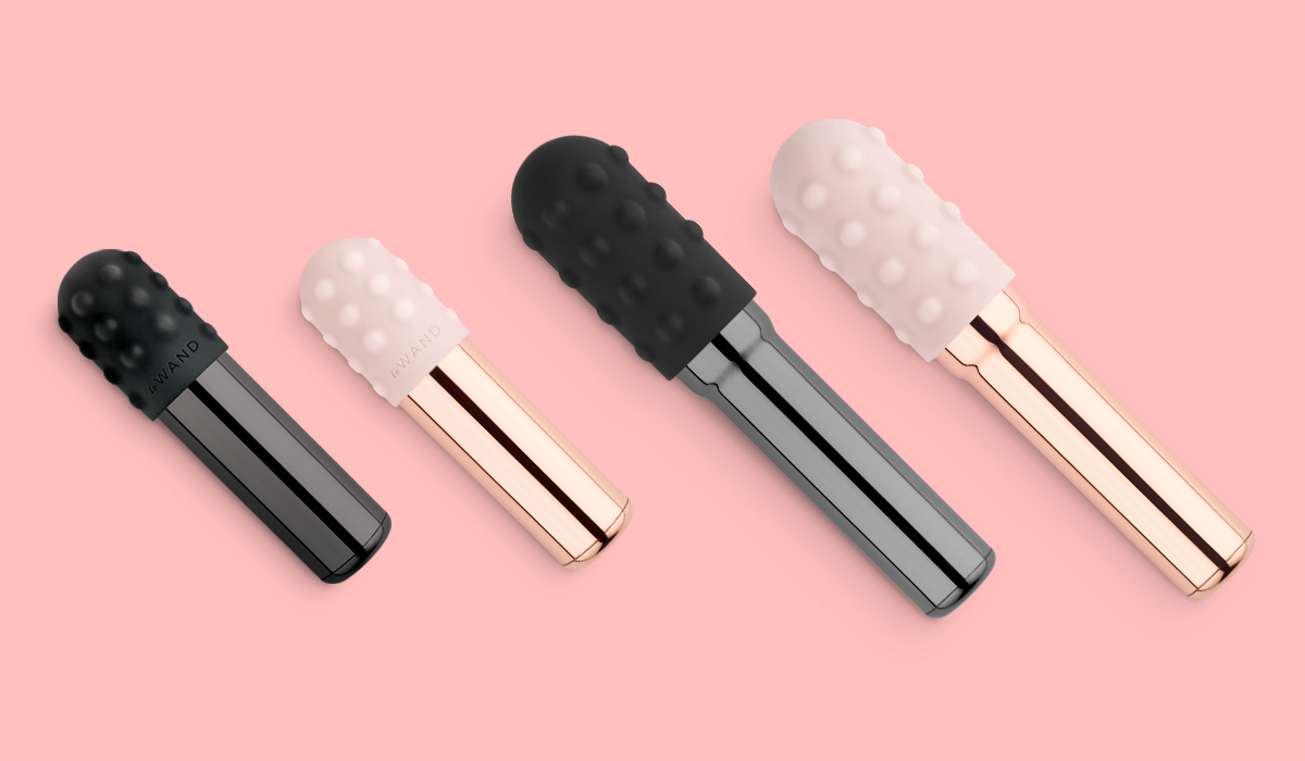 Le Wand Chrome Bullet Vibrators