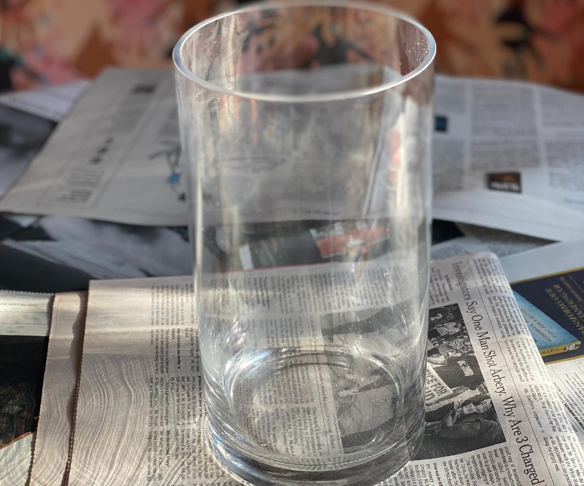 How to make a DIY foam vase