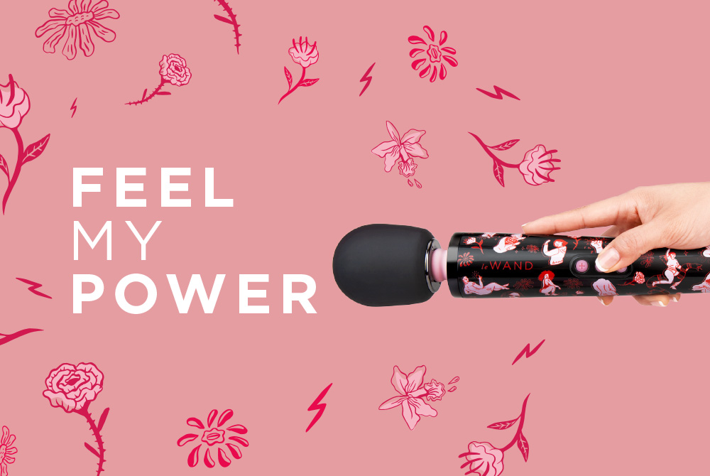 Le Wand Celebrates the Power of Pleasure with Feel My Power Campaign.