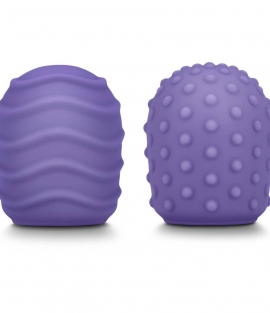 Le Wand Petite Silicone Texture Covers (2-Pack)